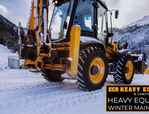 Heavy Equipment Winter Maintenance